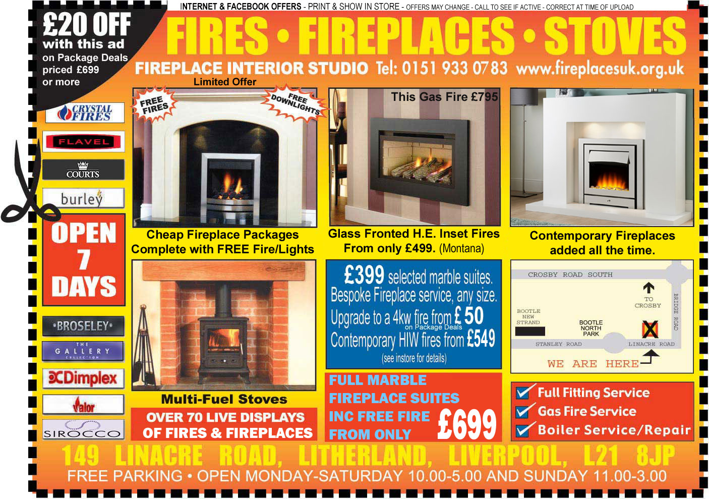 Liverpool Fireplace Voucher