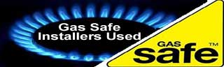 gas safe installers used.