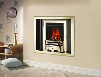 Brass fire trim, brass frets, chrome frets, replacement fire facias,  Fireplace Interior Studio, Tel: 0151 933 0783,  Merseyside, Liverpool,