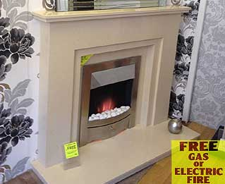 Sacramento marble fireplaces  Liverpool