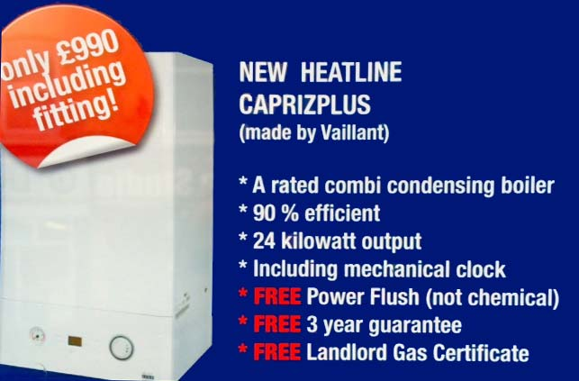 THIS MONTHS CENTRAL HEATING DEALS-INC FITTING
